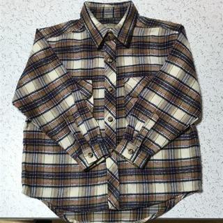 チェックシャツ 120センチ