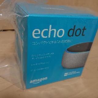 【新品】 スマートスピーカー アマゾンEcho Dot (エコー...