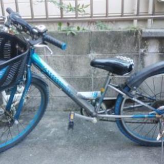 ジャンク 男児用自転車24インチ