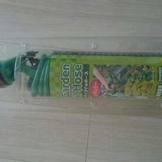 ガーデンコイルホース 未使用品 半額