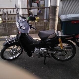スーパーカブ110(JA10) ブラック 124ccへボアアップ済