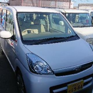 2年車検付 人気の白 ステラ 16万円