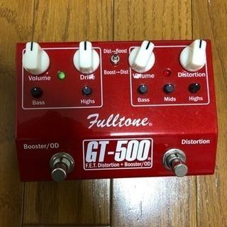 【エフェクター】Fulltone GT500をお譲りします