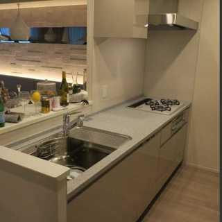 展示品 タカラスタンダード I型キッチン W2400 食洗機 ガ...