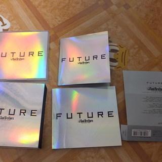 三代目JSoul Brothers 最新アルバム「FUTURE」