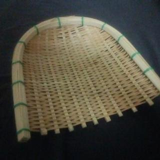 竹のザルっぽい何か