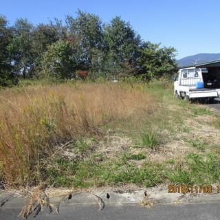 福岡原野商法、空地、駐車場工事、コンクリート仕様、草刈り、植木徹...
