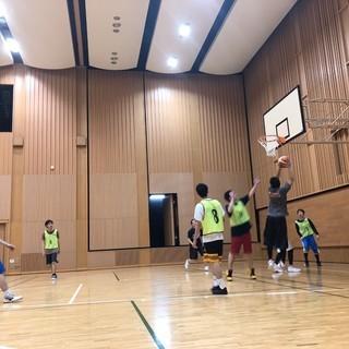 ワイワイ楽しくバスケ♪