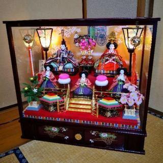 【美品】狭山清玉   雛人形   おひなさま