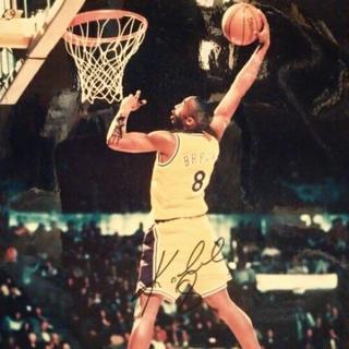 NBA元スター選手 K.ブライアント直筆サイン