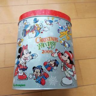 ディズニー チョコレートクランチの空き缶