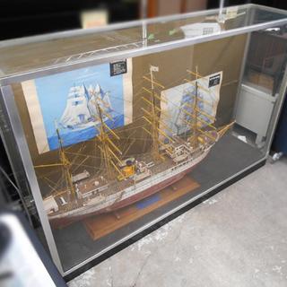 組立品 FUJI ART MODEL/不二美術模型 木製帆船 日...