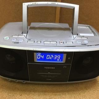 セール品❗️東芝CDラジオカセットレコーダー TY-CDK5