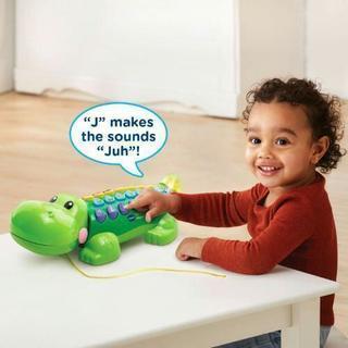 ★国内未発売レア商品 知育玩具★VTech ワニのオモチャ(英語版)★