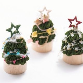 つまみ細工で作るクリスマスツリー ワークショップ