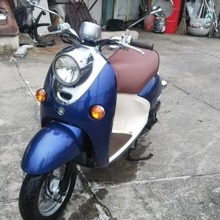 ☆☆ヤマハビーノ SA26J 青 かわいさNO,1 低燃費の水冷キ...