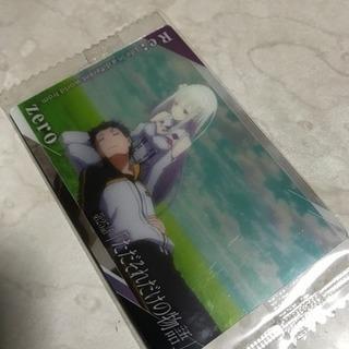 リゼロ  エミリア&スバル カード②
