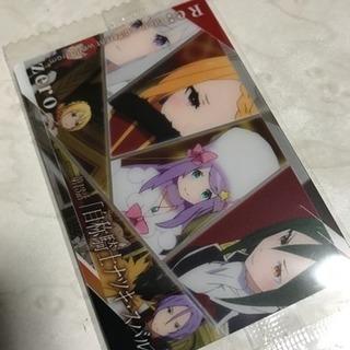 リゼロ  王候補達 カード