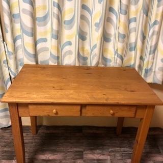 パイン材の机