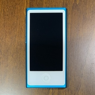 iPod nano 16GB Blue 第7世代