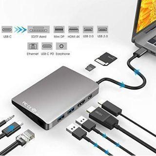 USB C ハブ 9ポート