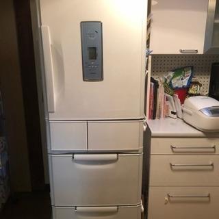 [値下げ!]三菱冷蔵庫 401l 自動製氷つき