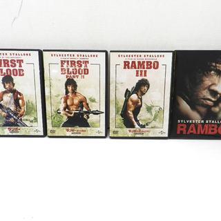 ランボー DVD 4巻 まとめて RAMBO シルヴェスター・ス...