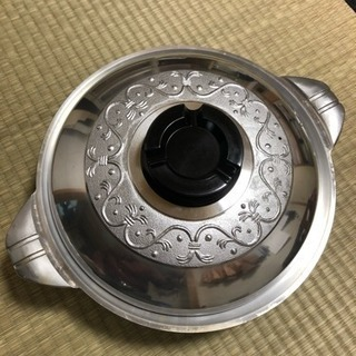 アルミキャスト製厚手調理鍋