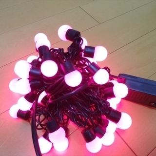 ★未使用★イルミネーション 50球 LED クリスマス 赤…