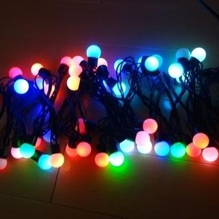 ★未使用★イルミネーション 50球 LED クリスマス ミ…