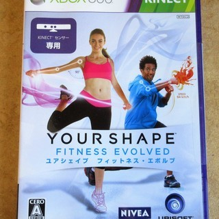 ☆XBOX360 Kinect YOUR SHAPE FTNES...