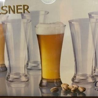 PILSNER  Oceanビアグラス 未使用品 6個