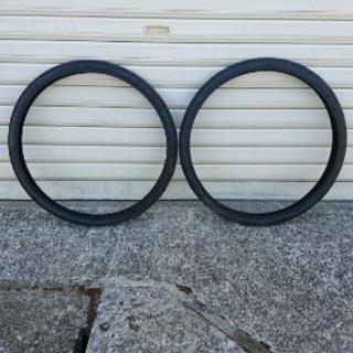 未使用 自転車のタイヤ 2本セット
