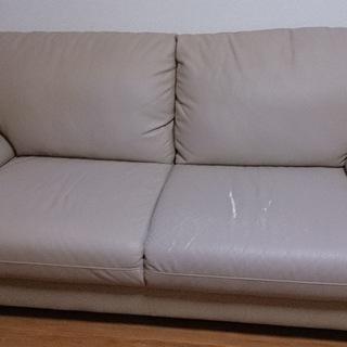 二人掛けソファー無料で差し上げます