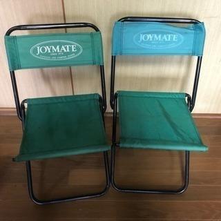 アウトドア椅子2脚セット