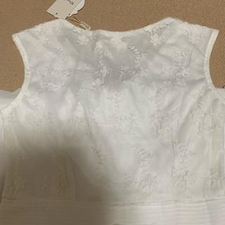 ワンピース ⑦ 白 タグ付き - 服/ファッション