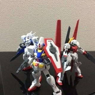 (ガンプラ)ガンダムOO系+アルファ(1/144)