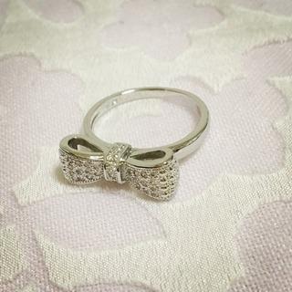 新品!13号 リボン型指輪