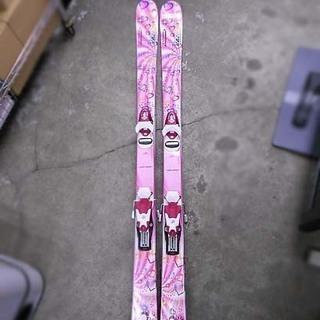 カザマ 136cm ROCKER ジュニアスキー板 ポール…