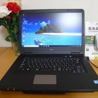 新品 SSD240GB搭載 15インチ ノートパソコン   Wi...