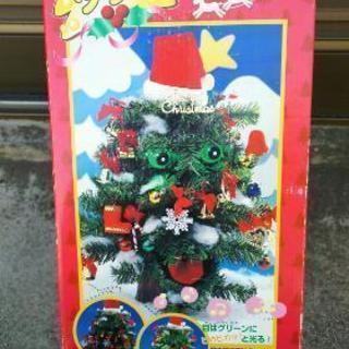 歌って、しゃべって、踊るクリスマスツリー