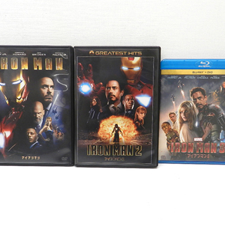 IRONMAN アイアンマン DVD Blu-ray 3巻…
