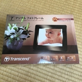 新品☆7インチ  デジタルフォトフレーム(黒)