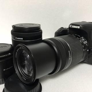 ❤️標準!望遠!単焦点❤️ Canon EOS 9000Dトリプ...