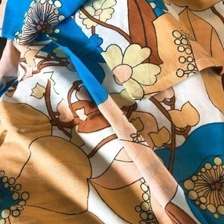 今日限定可愛い柄の布あげます!
