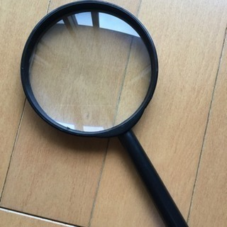 読書用 ルーペ 虫眼鏡 拡大鏡 100ミリ