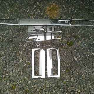 エルグランド E51 外装メッキモール セット