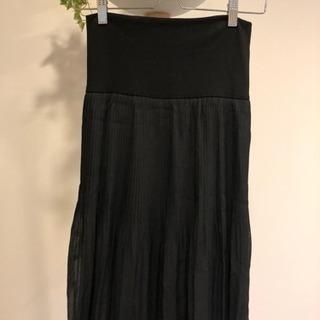 ➖終了➖ OFUON  リバーシブルスカート 黒