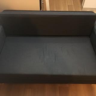 【値下げしました!!】2人掛け用のソファベッド