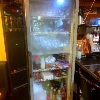 ◆店舗用冷蔵庫 三洋電機◆業務用厨房機器◆使用感あり◆処分